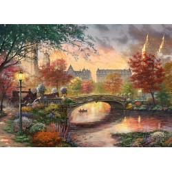 Autumn in New York 1000 Jigsaw Puzzle Thomas Kinkade