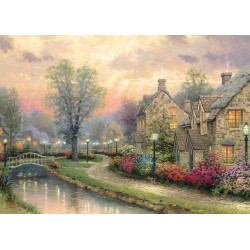 Lamplight Lane 1000 Jigsaw Puzzle Thomas Kinkade