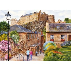 Edinburgh - The Vennel 1000pc puzzle Terry Harrison