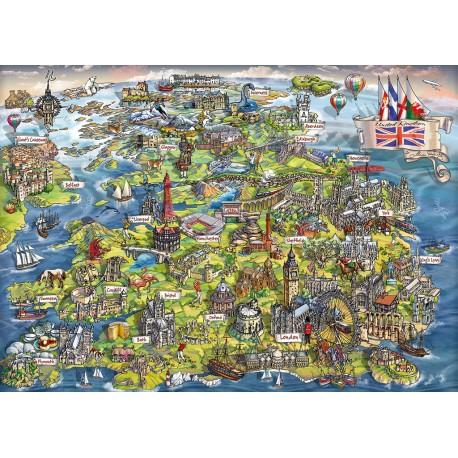 Beautiful Britain 1000 piece puzzle Maria Rabinsky