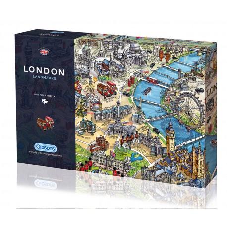 London Landmarks Maria Rabinsky