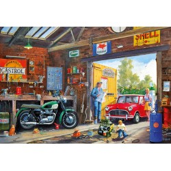 Daddy's Little Helper 500 piece jigsaw