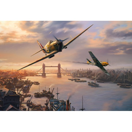 Spitfire Skirmish 500pc Jigsaw Puzzle Nicolas Trudgian