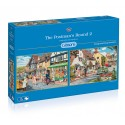 The Postman's Round 2 2x500 Jigsaw Puzzle