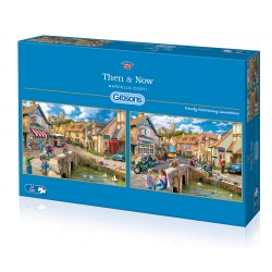 Then & Now 2x500 Jigsaw Puzzle