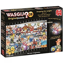 DROPPING THE WEIGHT! Wasgij 1000 Piece