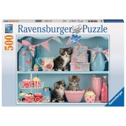Ravensburger Kittens & Cupcakes 500 piece jigsaw puzzle 14684