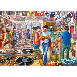 Retro Records 1000pc Puzzle Steve Crisp
