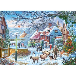 A Winter Stroll 1000pc Jigsaw