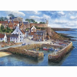 Crail Harbour 1000pc Jigsaw