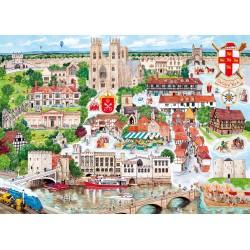 York 1000pc Jigsaw Puzzle