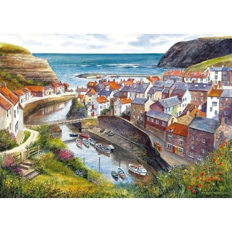 Staithes Jigsaw Puzzle 1000 Pieces