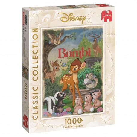 Disney Bambi Puzzle- Jumbo Games 1000 piece Jigsaw