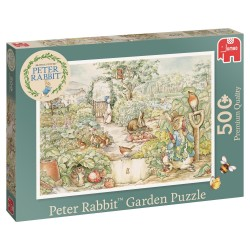 Peter Rabbit Garden Puzzle- Jumbo Games 500 piece Jigsaw