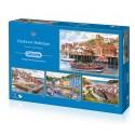 Harbour Holidays 4 x 500pc Jigsaw