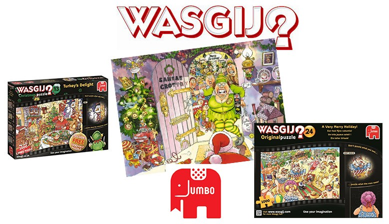Wasgij is the brainteaser puzzle brand unlike any traditional adult logic puzzles.